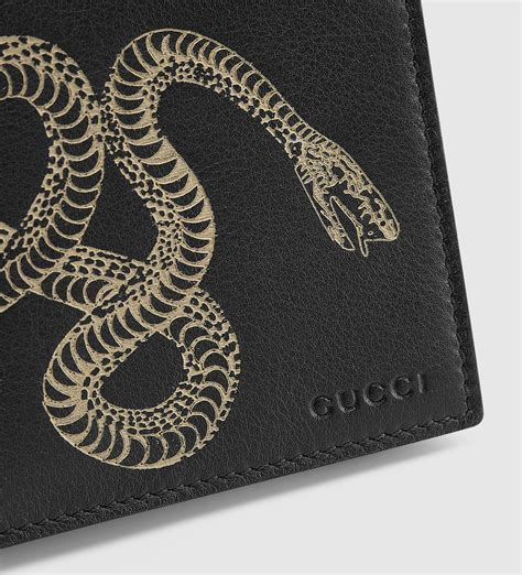 Gucci Snake lyst gucci snake leather wallet for