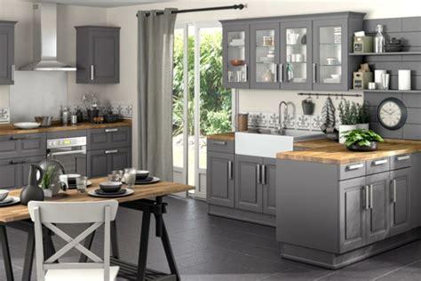 deco cuisine gris d 233 co cuisine gris et bois