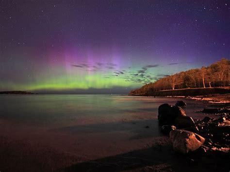 Northern Lights In Michigan Aurora Lake Superior Michigan 600x450