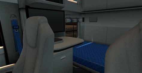 T680 Interior by Kenworth T680 Real Interior Mod American Truck Simulator