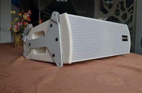 Subwoofer Speaker Besar 12 Quot 2 way dual 6 inch pasif line array warna putih desain