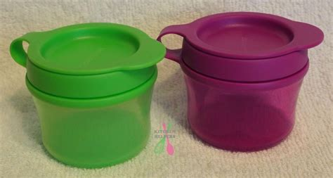 Snack It Tupperware Purple Tupperware Grow With Me Snack Cups Set Of 2 Purple Or
