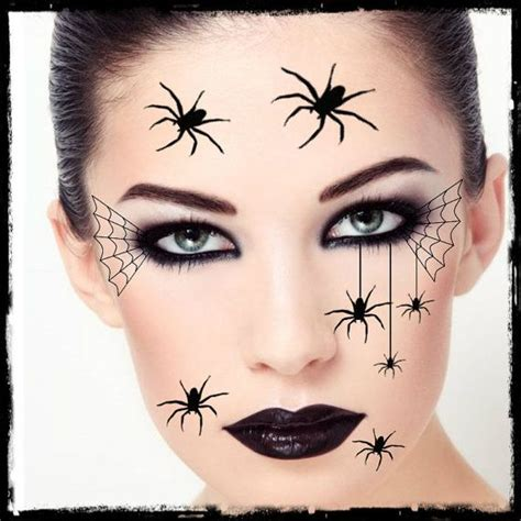 halloween face tattoos 1000 ideas about spider costume on costumes