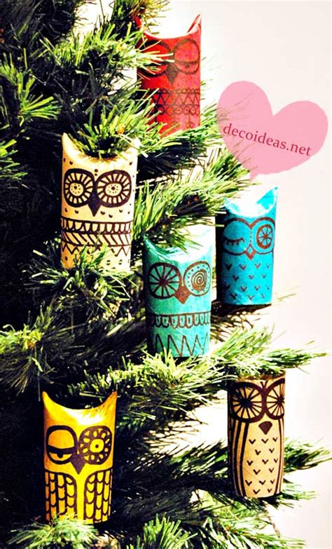 Owl Craft Toilet Paper Roll - diy owls toilet paper roll crafts living locurto