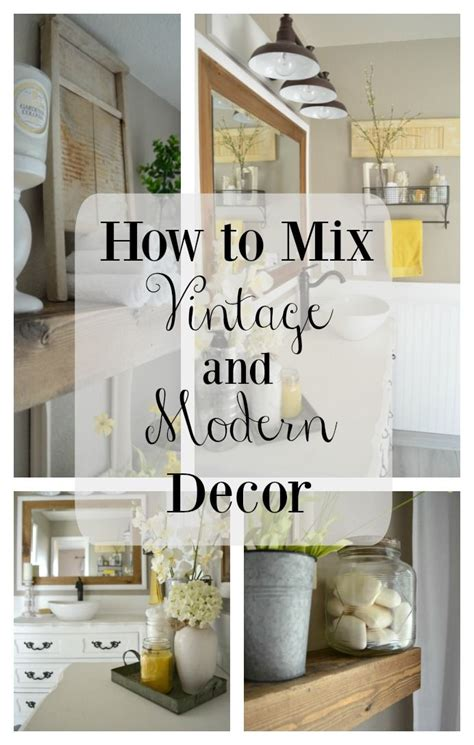25 best ideas about modern vintage decor on
