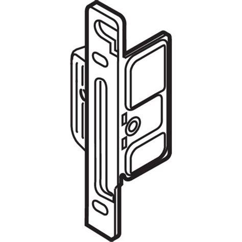 Blum Zsf 1200 Metabox Left Hand Clip Front Fixing Bracket