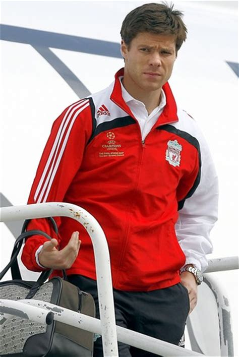 Model Rambut Xabi Alonso by Liverpool Football Team S Midfie