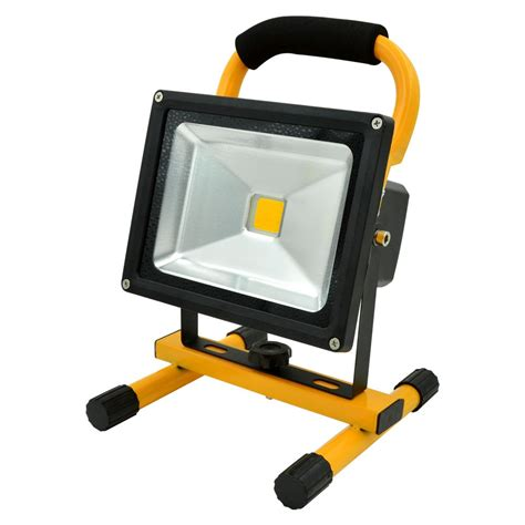 rechargeable light for home mengsled mengs 174 20w rechargeable led flood light 700lm