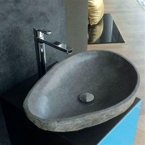 Designer Badmöbel 58 by Flussstein Als Aufsatzwaschtisch Waschbecken