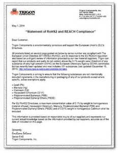 Reach Certification Letter Certificate Of Compliance Template Out Of Darkness