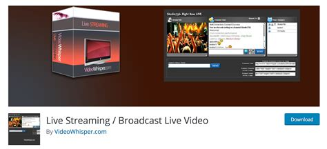 live themes software download the best live streaming software and plugins for wordpress