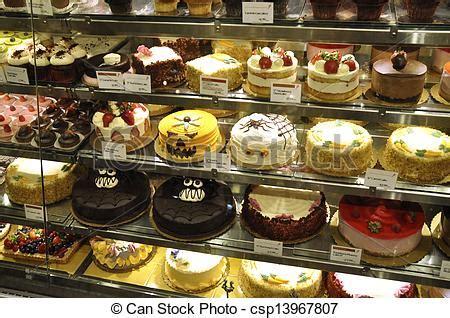 amerikanische kuchen stock fotografie amerikanische kuchen schaufenster