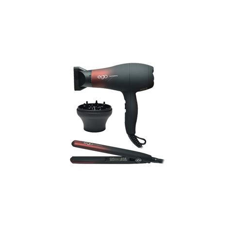 Hair Dryer And Diffuser Set ego trip dual voltage ego straightener ego hair dryer