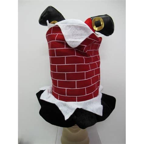Chimney Hat With Santa - santa chimney hat hat