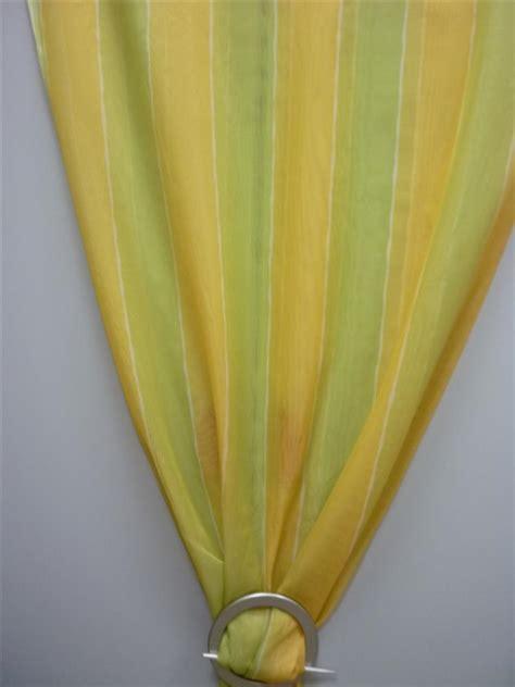 vorhang gelb deko stoff gardine vorhang voile gelb gr 252 n breite