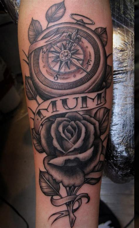 compass tattoo represents 35 lovely tattoos with meaning compass rose tattoo