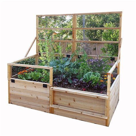 outdoor living today  ft   ft raised garden bed