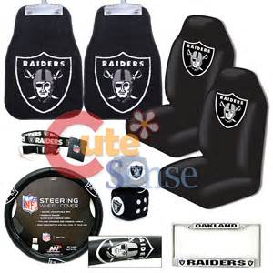 Does Big W Sell Car Seat Covers Nfl Oakland Raiders Car Seat Cover Auto Accessories 8pc