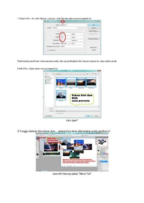 membuat foto kolase dengan photoshop cs3 cara menggabungkan foto dengan photoshop cs3