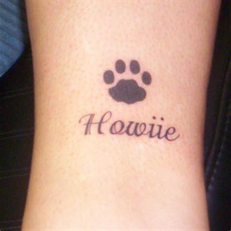 pet name tattoo ideas footprint tattoo meanings itattoodesigns com