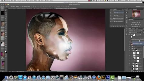 photoshop glossy lips tutorial 1 youtube glass skin effect in c4d photoshop youtube