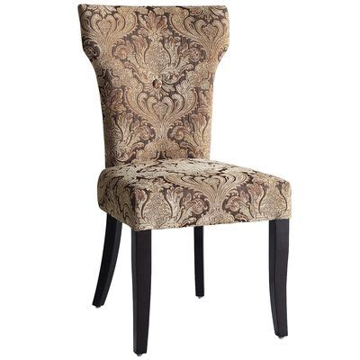 Damask Dining Chairs Carmilla Dining Chair Green Damask Everything Pier 1