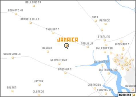 map usa jamaica jamaica united states usa map nona net