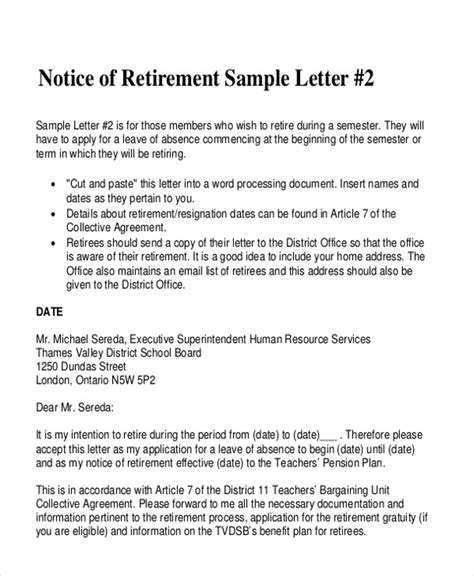 Pension Withdrawal Letter Sle retirement letter to coworkers retirement retirement goodbye letter hashdoc goodbye letters