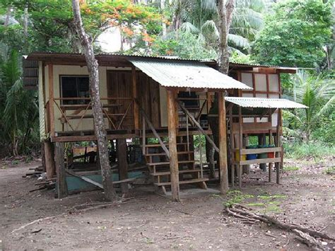 front of our cabin picture of curu national wildlife