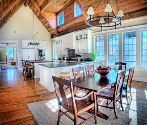 dramatic vaulted ceiling in kitchen traditional furniture bright high vaulted ceiling kitchen room with