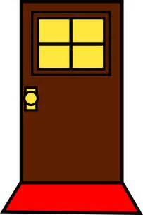 Doormat For Double Doors Cartoon Door Cartoonopen Door Cartoonclose The Door 第23页 点力图库