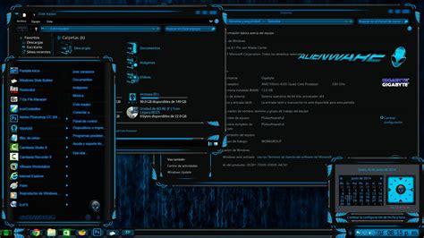 temas para tema alienware premium para windows 8 y 8 1 youtube