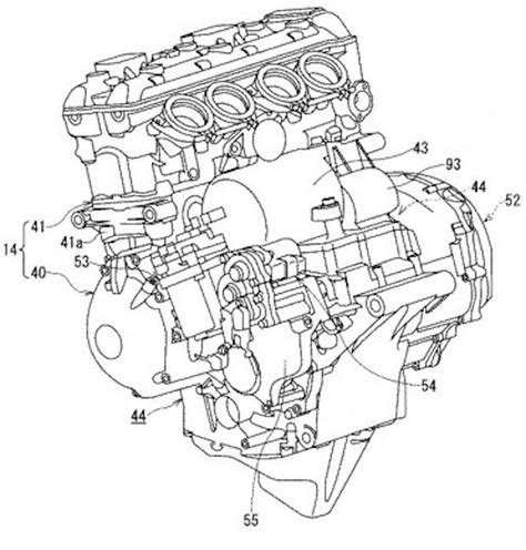 suzuki files patent for hybrid motorcycle columnm