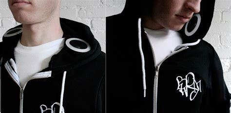 Hoodie The Headphone headphones in your hoodie electricfoxy
