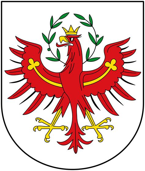 Aufkleber Drucken Tirol by Tiroler Wappen