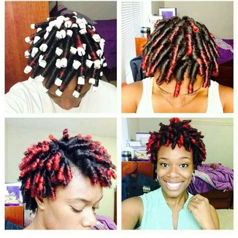 gray and pink rods permed hair perm rods naturally beautiful pinterest perm rods
