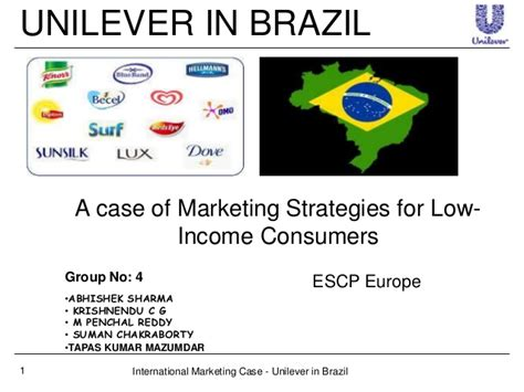layout strategy of unilever unilever in brazil