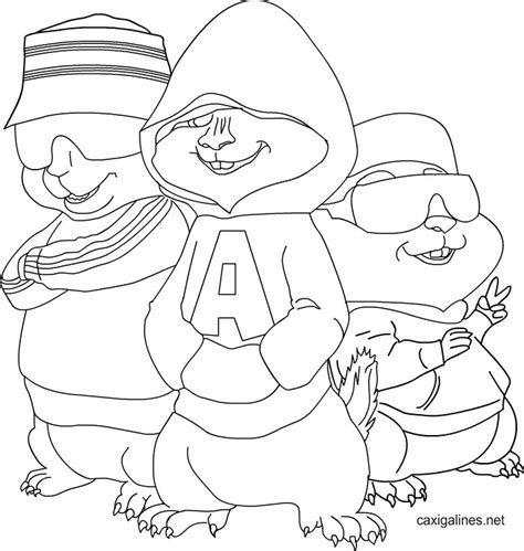 printable coloring pages alvin and the chipmunks alvin and the chipmunks printable coloring pages az