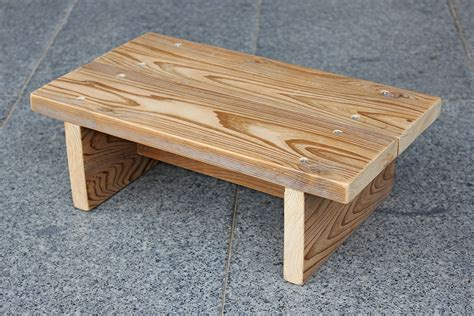 Small Wood Stool Plans by Small Wooden Step Stool Bmpath Furniture