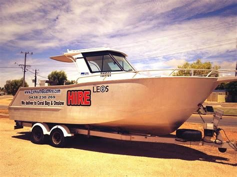 hire boats for sale australia coral bay boat hire providing boat hire in coral bay