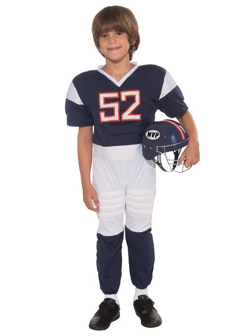football costume child football player costume