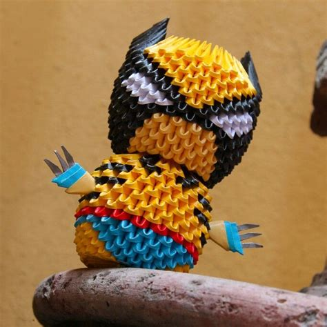 Origami Wolverine - 17 best images about origami by peke 241 o on
