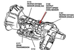 ford explorer transmission parts pictures to pin on