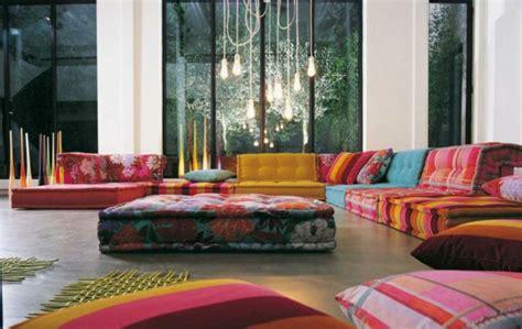 Bunte Designer Sofas by Einrichtungsbeispiele F 252 Rs Wohnzimmer