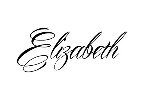elizabeth tattoo designs make it yourself name creator we