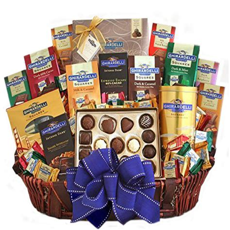 basket gifts for ghirardelli ultimate indulgence gift basket gourmet gift