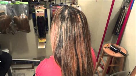 pictures after weave removal microlink hair extensions removal and reinstall after 4