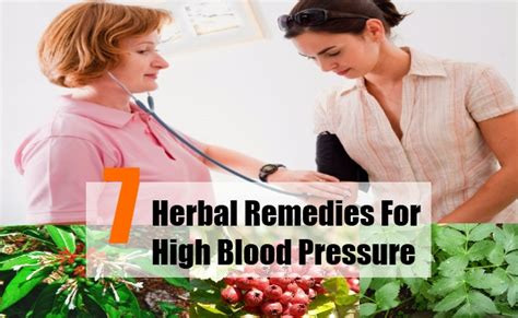7 herbal remedy for high blood pressure high blood