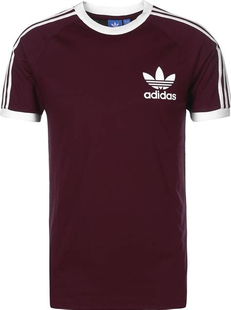 If Shirt adidas california t shirt maroon