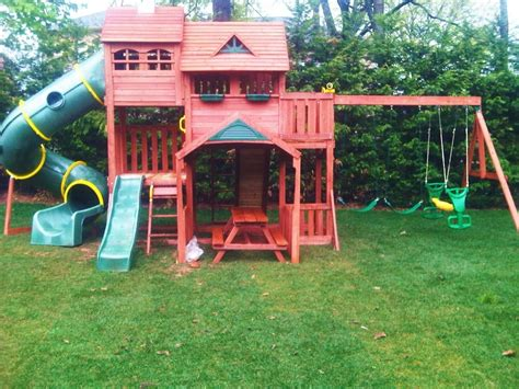 playsets backyard swing sets for small backyard amys office inside big